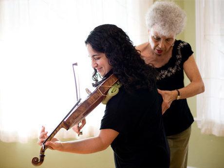violin w aliza